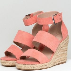 ASOS wedge sandals US size 9